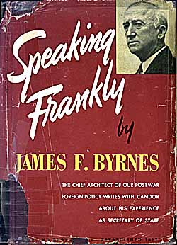 Speaking Frankly book cover